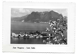 Italy Lago Maggiore Isola Bella Beautiful Isle Glossy Photo Capucci 4X6 Postcard