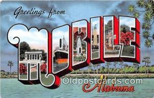 Mobile Alabama, USA Postcard Post Cards Alabama, USA Mobile
