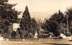 Portland Oregon City Park Real Photo Antique Postcard K100491