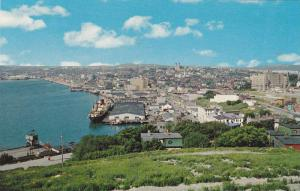 View from Battery Motel: General scene showing new harbour development,  St. ...
