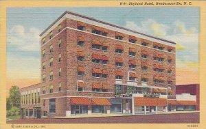 North Carolina Henderson Skyland Hotel 1948 Albertype