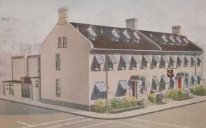 The Bytown Inn Restaurant O'Connor Albert Street Ottawa Canada Postcard