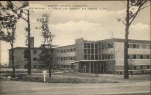 Bar Harbor ME Jackson Memorial Lab c19490s Postcard