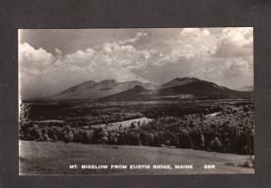ME Mt Bigelow Mountain Eustis Ridge Maine Real Photo RPPC Postcard RP