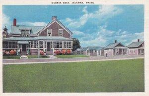JACKMAN, Maine, 1930-1940's; Moores Rest