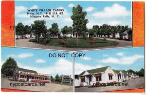 White Village Cabins, Niagara Falls NY