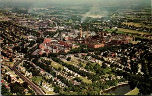 New York Rochester Aerial View Of Kodak Park
