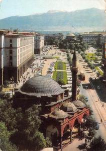 Bulgaria Sofia - Boulevard Georgi Dimitroff auto cars, panorama 1972