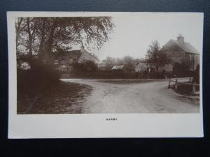 Leicestershire HARBY near Stathern Lane & School Lane c1914 RP Postcard by Towne
