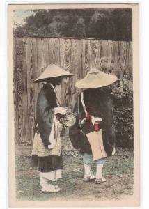 Japanese Pilgrim Priests Japan 1910s postcard