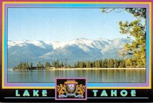 California Lake Tahoe Panorama View