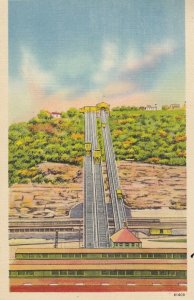 PITTSBURGH , Pennsylvania , 30-40s ; Monongahela Incline , South Side