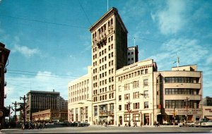 Canada Winnipeg Portage and Main Street 1960
