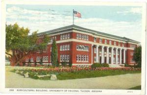 Agricultural Building, University of Arizona, Tucson, AZ,  1942 White Border