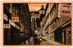 CPA ZAGREB Bregovica ulica CROATIA (567811)