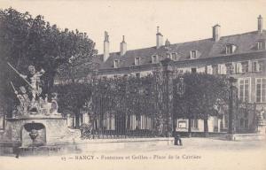 Fontaines Et Grilles- Place De La Carriere, Nancy (Meurthe-et-Moselle), Franc...