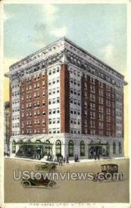 New Hotel Utica Utica NY 1913 Missing Stamp