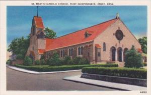 Saint Marys Catholic Church point Independence Onset Massachusetts