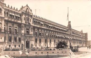 Mexico Old Vintage Antique Post Card Palacio Nacional 1936, Real Photo