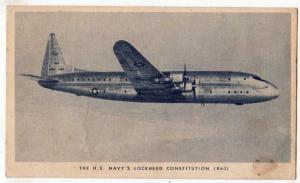 US Navy's Lockheed Constitution R60