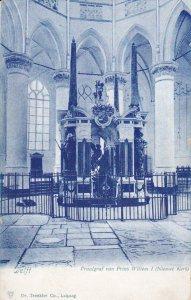 DELFT, Zuid-Holland, Netherlands, 1900-1910s; Praalgraf Van Prins Willem I (N...