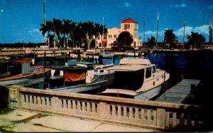 Florida Bradenton Yacht BasinAt Memorial Pier