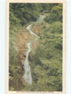 Linen WATERFALL White Oak Canyon At Robertson - Near Culpeper Virginia VA E4327