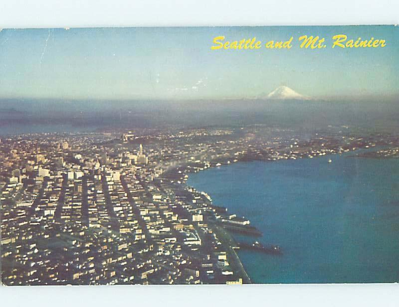Pre-1980 PANORAMIC VIEW Seattle Washington WA i1029