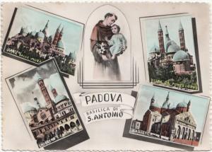 PADOVA, Basilica di S. Antonio, 1954 used Postcard