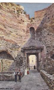 SPLIT-SPALATO , Croatia , 00-10s ; Vestibolo del Palazzo di Diocleziano : TUC...