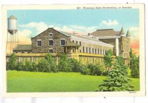 Wyoming State Penitentiary, at Rawlins, Wyoming, 30-40s