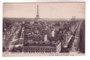 Eiffel Tower Iena Klieber Ave Paris France,