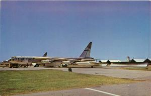 SAC's B-52H Stratofortress Carswell Air Force Base Fort Worth Texas Postcard