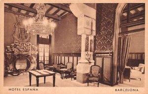 Hotel Espana Barcelona Spain Unused