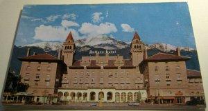 United States Antlers Hotel Colorado Springs Colorado P29890 Plastichrome - unpo