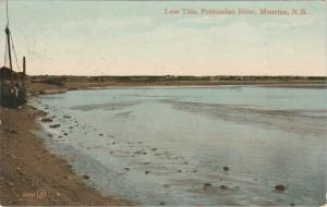 Low Tide on Petitcodiac River - Moncton NB, New Brunswick, Canada - pm 1912 - DB