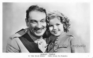 Actress Shirley Temple Wee Willie Winkie Unused Glue on back side