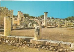 Cyprus, The Temple of Apollo, Curium, unused Postcard