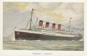 Paquebot FRANCE , 1910-20s