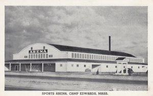 CAMP EDWARDS, Massachusetts, 1930-40s; Sports Arena