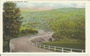 Entrance To Mohawk Trail, Adams, Mass.