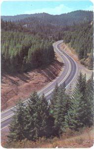 Highway 10, 4th of July Canyon, Kellogg & Coeur D'Alene, Idaho, ID, chrome