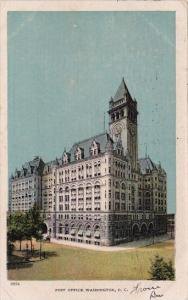 Post Office Washington D C  1907