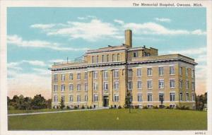 Michigan Owosso The Memorial Hospital Curteich