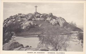 Summit Mt Rubidoux Riverside California Albertype