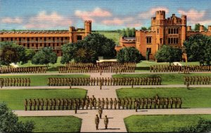New Mexico Roswell Cadets On Parade New Mexico Military Institute Curteich