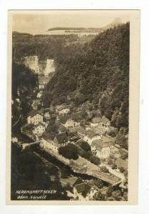 RP: Aerial of City and Mountains,Hrensko,Czech Republic 1910-20s