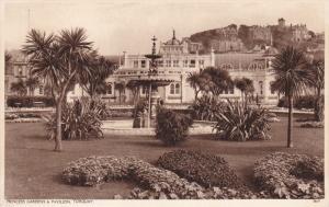 TORQUAY, Devon, England, 1900-1910's; Princess Gardens And Pavilion