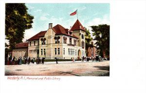 Rhode island   Westerly ,  Memorial Public Library