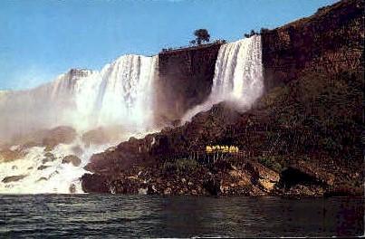 Bridal Veils Falls Niagara Falls NY Unused